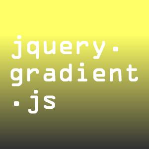 jquery.gradient:画像を使わずにグラデーションを表示してみる