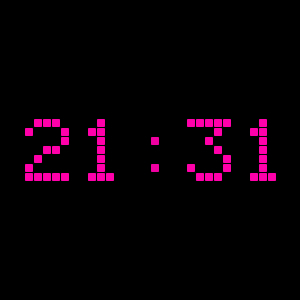 jquery.classyled:時間をデジタルに表示するJs