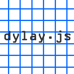 dylay.js:グリッドを弾むような動きで表示するjs
