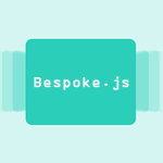 bespoke.js:プレゼン用のパネルとテーマを表示するJs