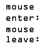 マウスオーバー(mouseenter)とマウスアウト(mouseleave)を使ってimgタグのsrc要素を入れ替え表示