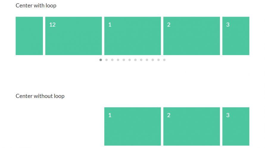 タッチ、スワイプ、マウスホイール、レスポンシブに対応したスライダーOwl Carousel 2【jQueryプラグイン】